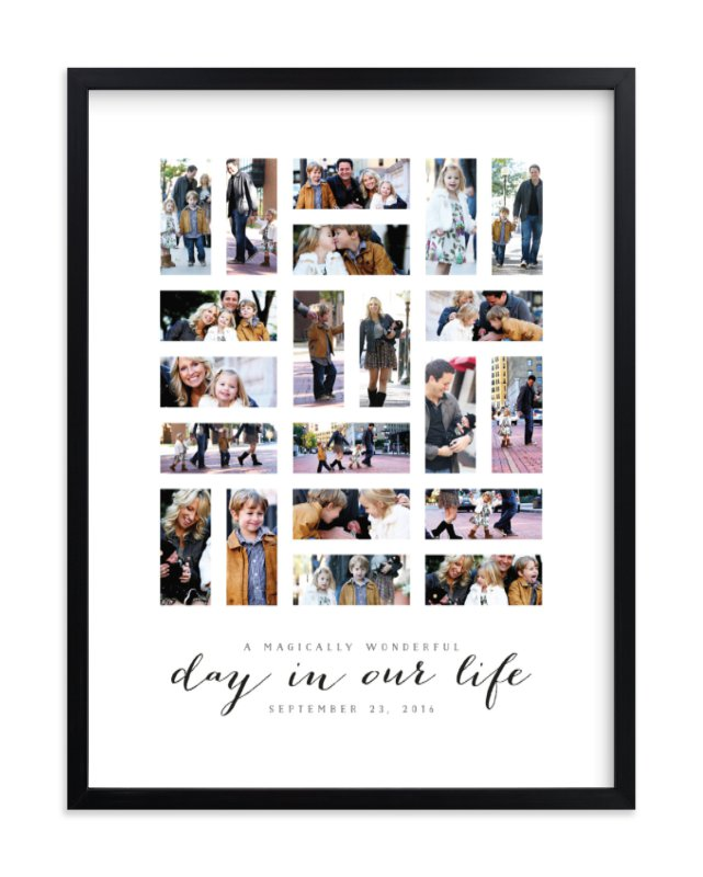 """A Day in Our Life"" - Custom Photo Art Print by Michelle Taylor in beautiful frame options and a variety of sizes."