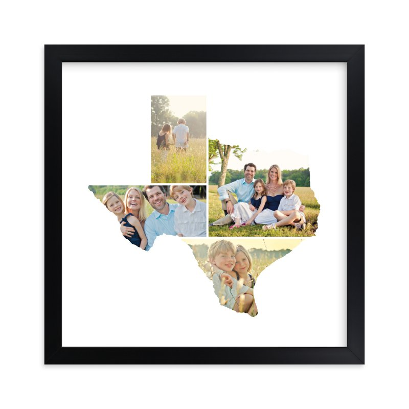 """Texas Love Location"" - Custom Photo Art Print by Heather Buchma in beautiful frame options and a variety of sizes."