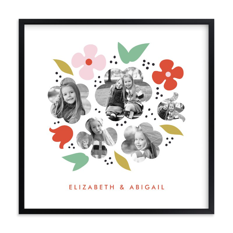 In Bloom - Family Photo Wall Decor
