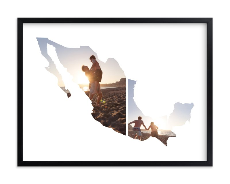 """""""Mexico Love Location"""" - Custom Photo Art Print by Heather Buchma in beautiful frame options and a variety of sizes."""