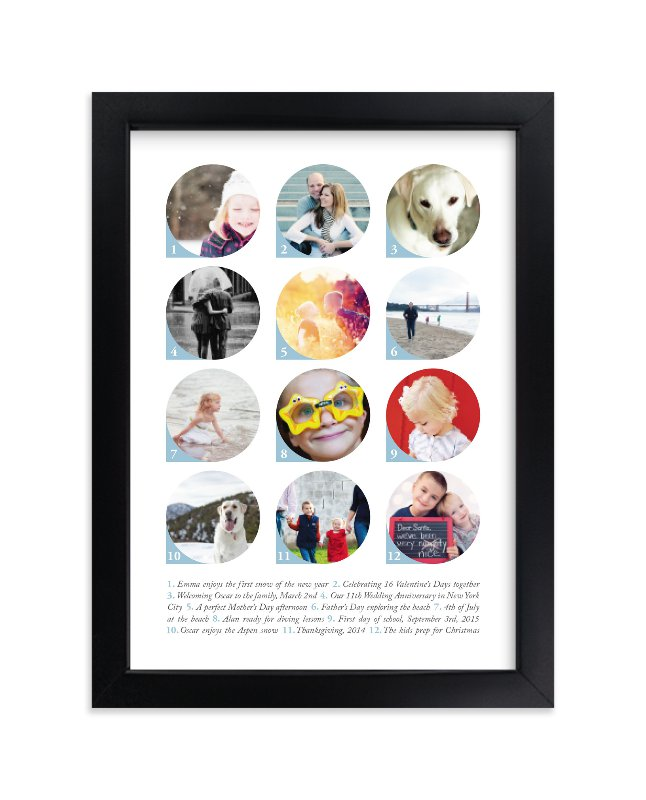 """""""An Index of Moments"""" - Custom Photo Art Print by Liz Conley in beautiful frame options and a variety of sizes."""