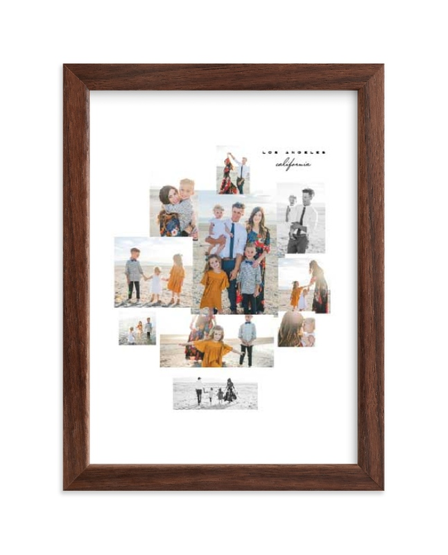 """""""Mod Collage"""" - Custom Photo Art Print by Leah Bisch in beautiful frame options and a variety of sizes."""