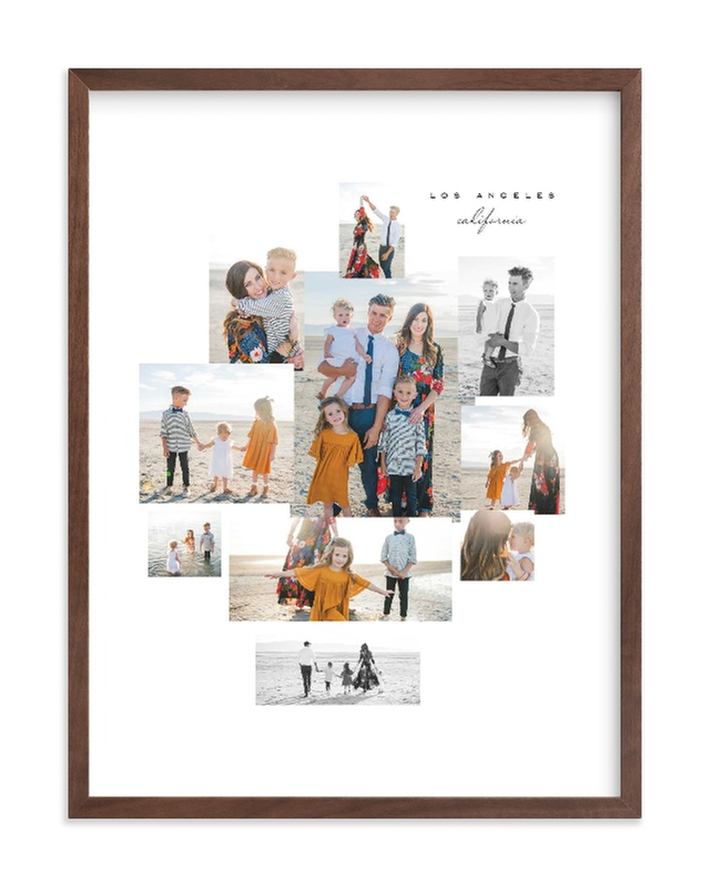 """Mod Collage"" - Custom Photo Art Print by Leah Bisch in beautiful frame options and a variety of sizes."