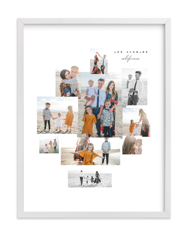 Mod Collage Custom Photo Art Print