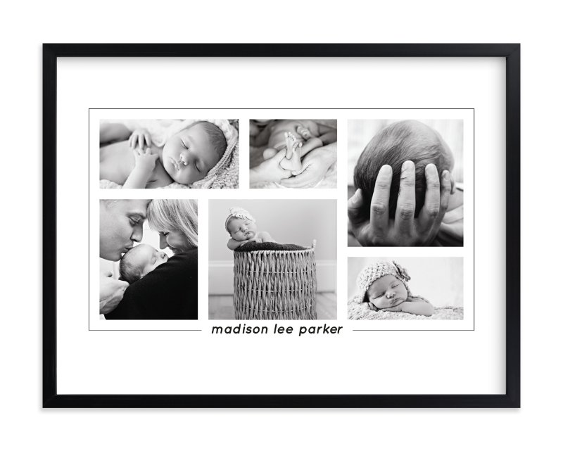 """""""Our Bundle of Joy"""" - Custom Photo Art Print by Anupama in beautiful frame options and a variety of sizes."""
