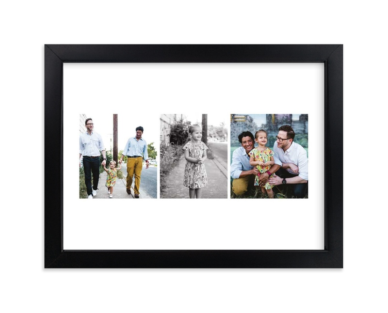 """""""Chic Snaps"""" - Custom Photo Art Print by jomolo in beautiful frame options and a variety of sizes."""