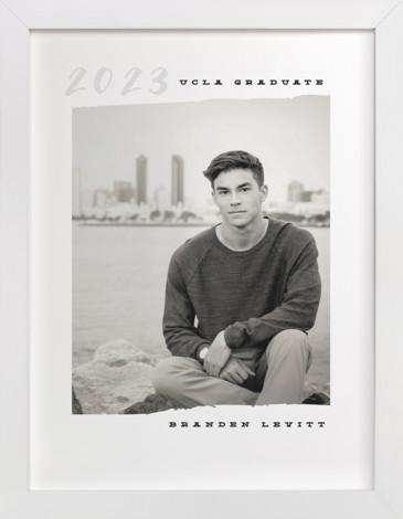 Yearbook Custom Photo Art Print