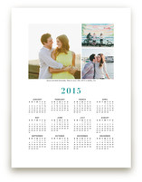 Wedding Photo Calendar (Three Photo)