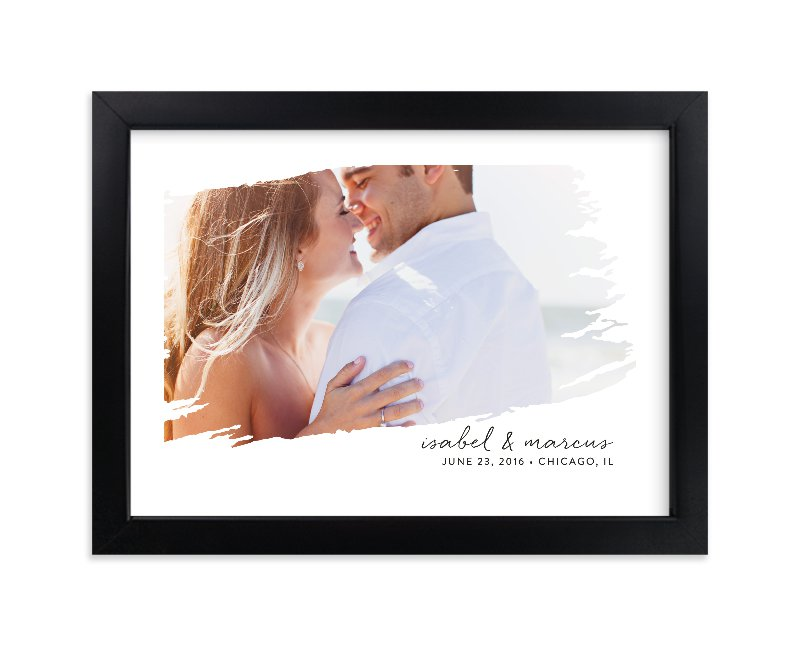 """""""Brushed"""" - Custom Photo Art Print by Erin Deegan in beautiful frame options and a variety of sizes."""