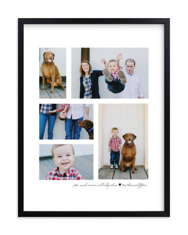 Deckled Custom Photo Art Print