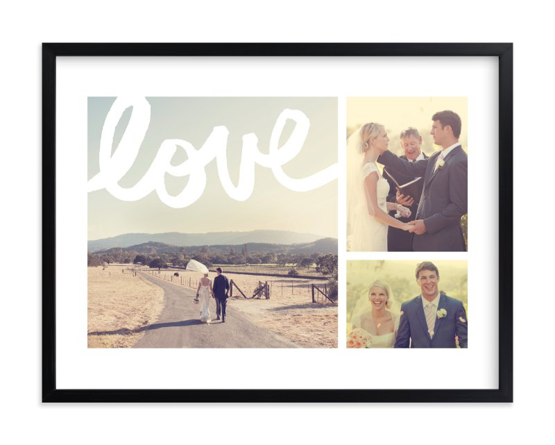 """New Love"" - Custom Photo Art Print by Kelly Nasuta in beautiful frame options and a variety of sizes."
