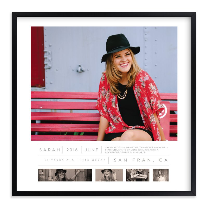 """""""Time Capsule Snapshot"""" - Custom Photo Art Print by Kate Capone in beautiful frame options and a variety of sizes."""