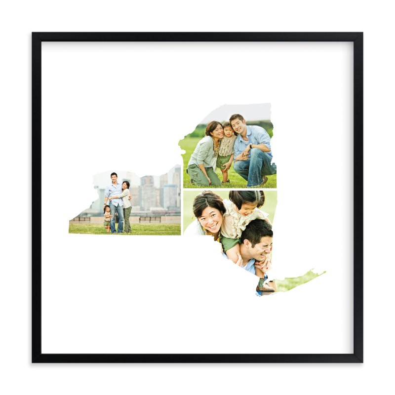 """""""New York Love Location"""" - Custom Photo Art Print by Heather Buchma in beautiful frame options and a variety of sizes."""