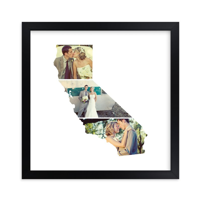 """California Love Location"" - Custom Photo Art Print by Heather Buchma in beautiful frame options and a variety of sizes."
