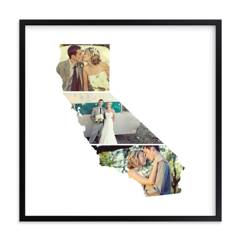 California Love Location Custom Photo Art Print