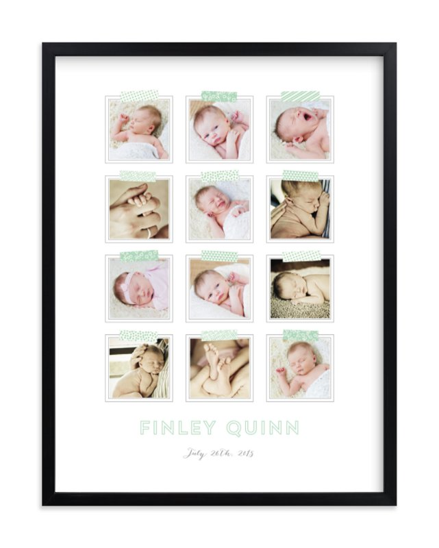 """""""Washi Grid"""" - Custom Photo Art Print by Laura Hankins in beautiful frame options and a variety of sizes."""