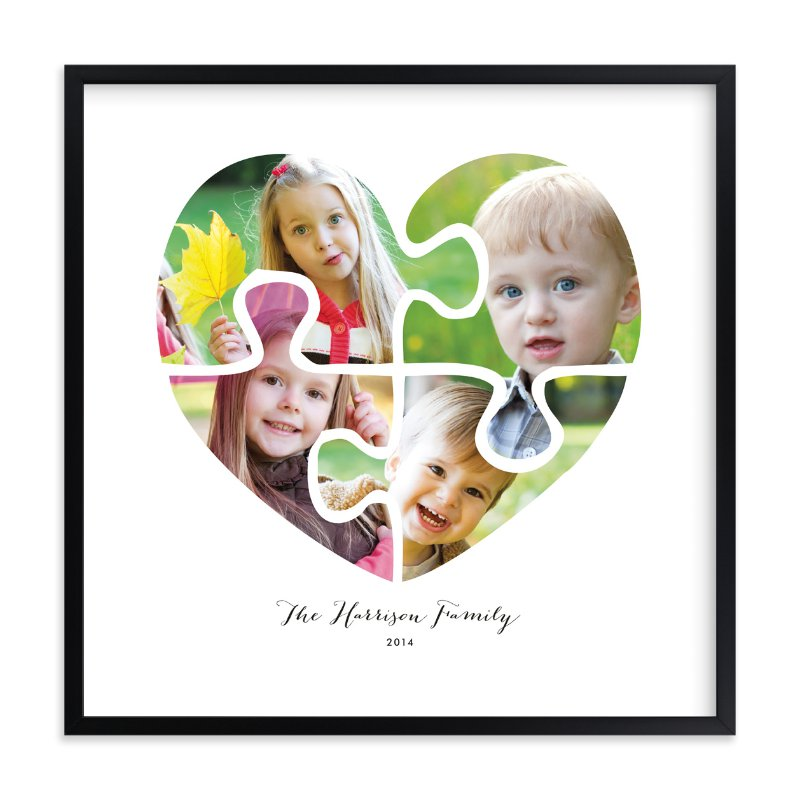 """We Go Together"" - Custom Photo Art Print by Oma N. Ramkhelawan in beautiful frame options and a variety of sizes."