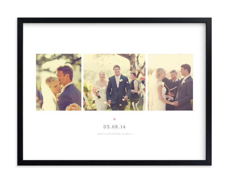 """""""Forever Yours"""" - Custom Photo Art Print by Sara Hicks Malone in beautiful frame options and a variety of sizes."""