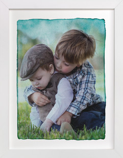 Aquarelle Custom Photo Art Print