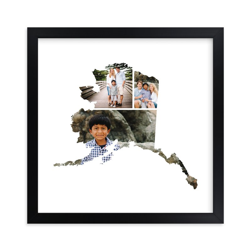 """""""Alaska Love Location"""" - Custom Photo Art Print by Heather Buchma in beautiful frame options and a variety of sizes."""