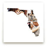 Florida Love Location Art Prints