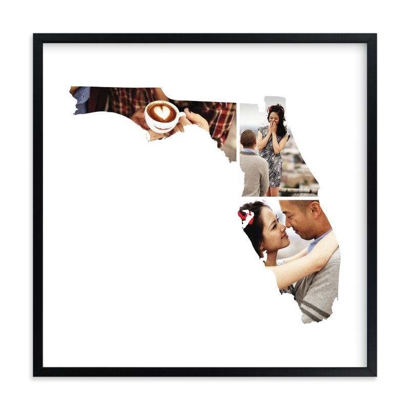 """""""Florida Love Location"""" - Custom Photo Art Print by Heather Buchma in beautiful frame options and a variety of sizes."""