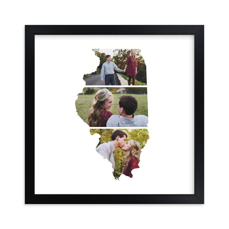 """""""Illinois Love Location"""" - Custom Photo Art Print by Heather Buchma in beautiful frame options and a variety of sizes."""