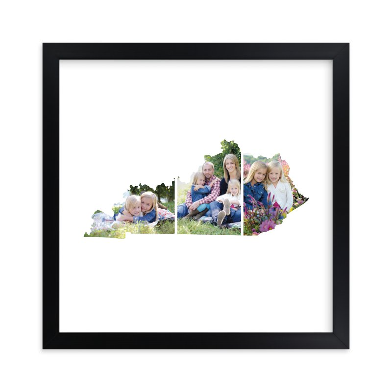 """Kentucky Love Location"" - Custom Photo Art Print by Heather Buchma in beautiful frame options and a variety of sizes."