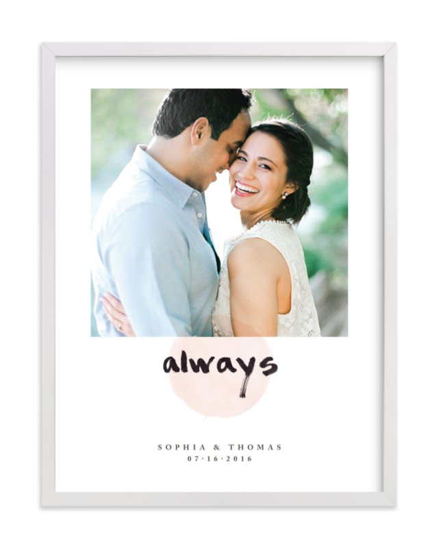 """Always"" - Custom Photo Art Print by Qing Ji in beautiful frame options and a variety of sizes."