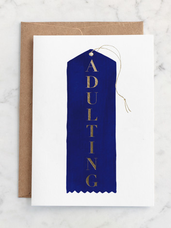 Blue Ribbon Adulting