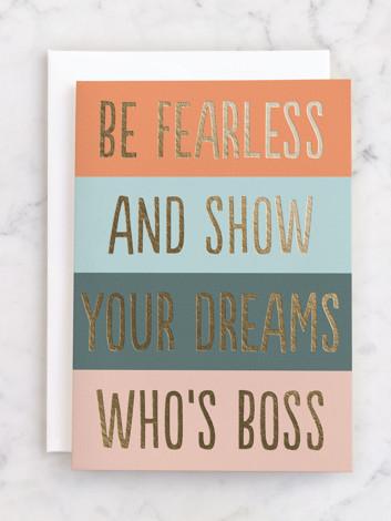 Fearless Boss