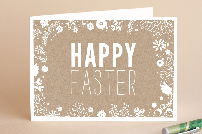 Easter kraft easter greeting cards by bethany ande minted colors m4hsunfo