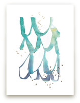 Cascade Foil-Pressed Wall Art