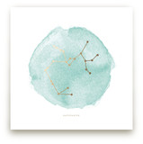 Sagittarius Foil-Pressed Wall Art