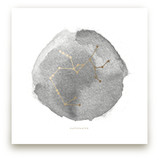 Sagittarius Foil-Pressed Wall Art