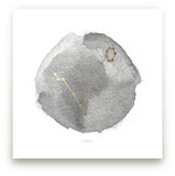 Pisces Foil-Pressed Wall Art