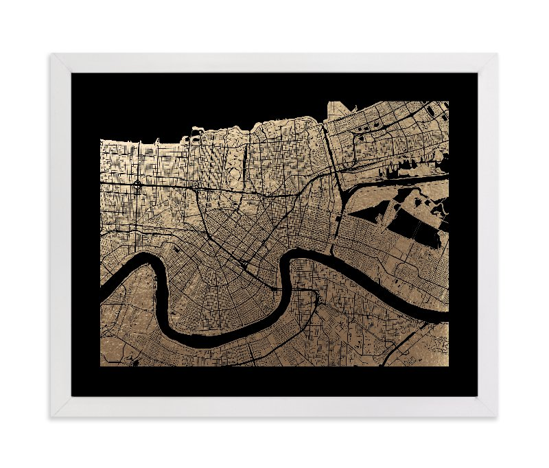 photograph about Printable Maps of New Orleans known as \