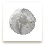 Gemini Foil-Pressed Wall Art