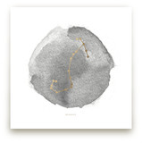 Scorpio Foil-Pressed Wall Art