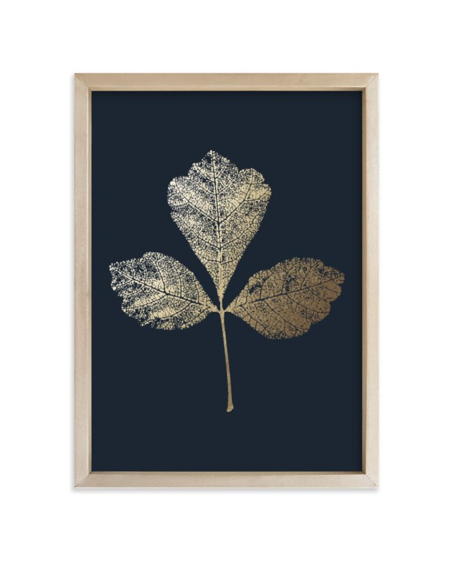 """""""Fragrant Sumac"""" - Foil-pressed Art Print by LemonBirch Design in beautiful frame options and a variety of sizes."""