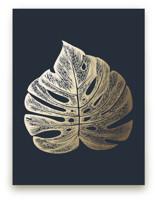Leaf Study 3 by annie clark