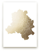 New Delhi Map by Snow and Ivy