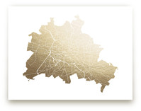 Berlin Map by Snow and Ivy