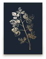 Fragrant Sumac Branch by LemonBirch Design