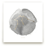 Aquarius Foil-Pressed Wall Art