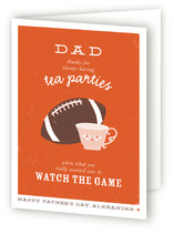 Football and Tea