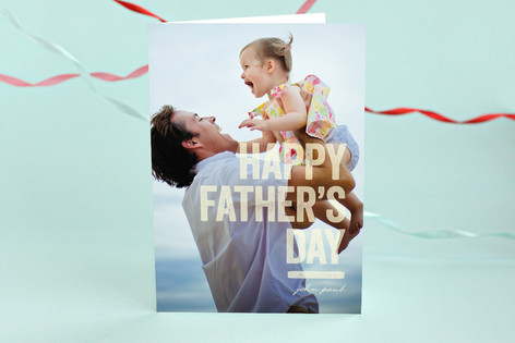 Dad Bold Father's Day Greeting Cards