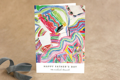 Work of Art Father's Day Greeting Cards