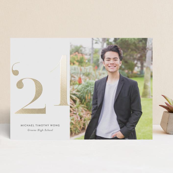 Annos Foil Pressed Graduation Card