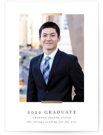 Refinement Graduation Announcement Cards